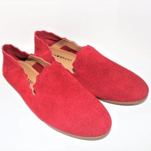 Lucky Brand suede flats 8M